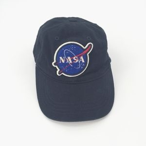 NASA Embroidered Patch Logo Hat